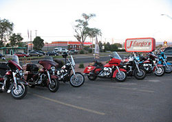 The Ole Fartz Motorcycle Club from Santa Fe, NM